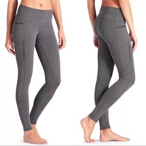 Athleta Sly Drifter Herringbone Leggings Sz. LT